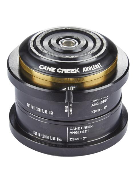 Cane Creek Hoek Balhoofdlager 1°, ZS49/28.6 I ZS49/30 zwart
